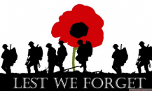 LEST WE FORGET - 8 X 5 FLAG